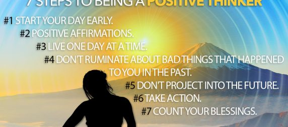 Bob Bly's 7 Steps to Being a Positive Thinker