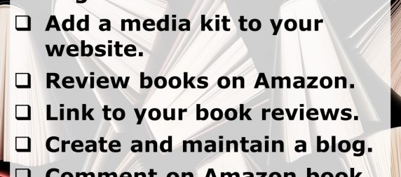 10 Free Things You Can Do to Promote Your Books and eBooks